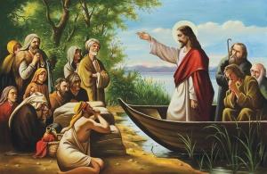 Pan Jezus naucza