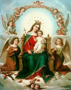 Bo jak dowodzą tego dzieje ludzkości, dopiero w Niej i przez Nią rola i godność kobiety znalazła pełne urzeczywistnienie i ukoronowanie, jak ukoronowaną na królową nieba i ziemi została właśnie Niepokalana Matka –Dziewica.
