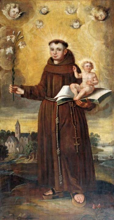 Jesus-St-Anthony-of-Padua-hand-lily